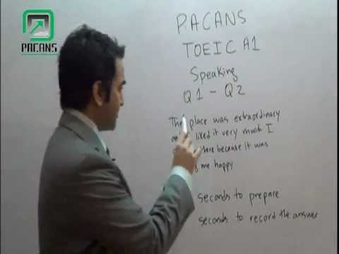 TOEIC A1 UK Spouse Visa Exam Speaking Questions 1 and 2 in Urdu/Hindi PACANS