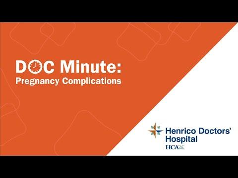 Pregnancy Complications Henrico Doctors' Hospital