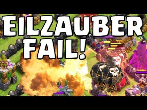 EILZAUBER FAIL! || CLASH OF CLANS || Let's Play CoC [Deutsch/German HD Android iOS PC]