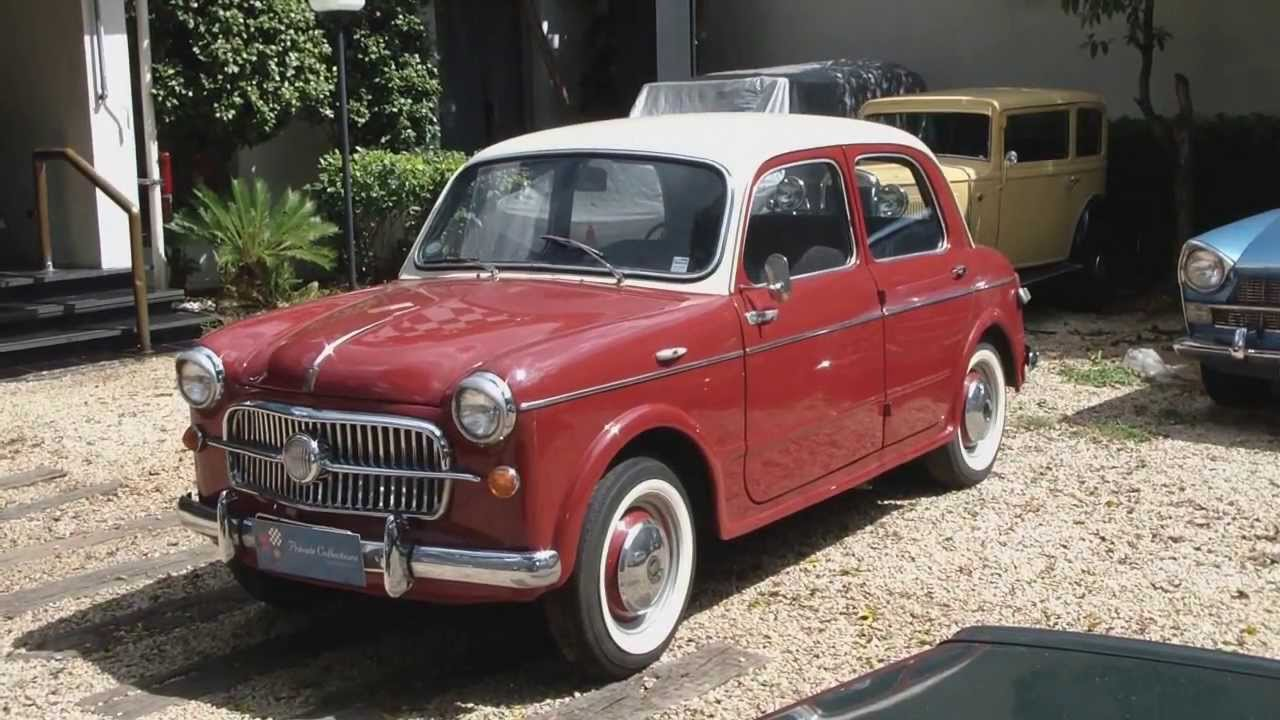 Private collections vintage show fiat 1100 tv