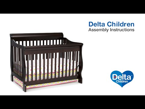 Delta Children Eclipse 4-in-1 Crib Assembly Video