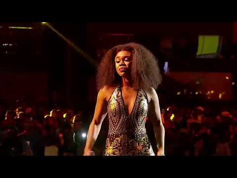 Na wash Becca Fire Performance at the AFRIMA Awards 2017