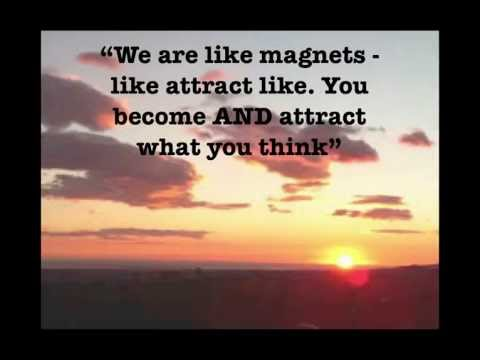 Laws Of Attraction Quotes Stunning The Law Of Attraction Quotes Inspirational Video  Youtube