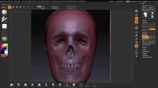 ZBrushCore - Paul Gaboury - Part 2 Sculpting with Images
