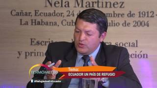 Termómetro Ciudadano con Jesús Sanz Moral y Andrea Uquillas