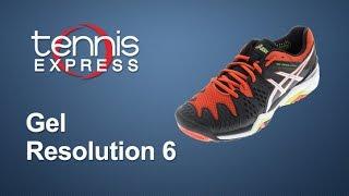 ASICS Mens Gel Resolution 6 Shoe Review | Tennis Express