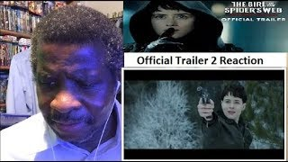 The Girl In The Spider's Web Trailer 2 Reaction