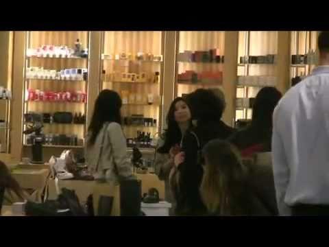 Vanessa Hudgens Christmas Shopping At Barneys New York [23.12.10]