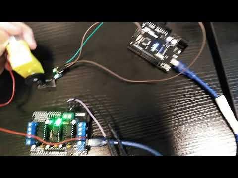 Mini tachometer (RPM meter) using Optocoupler Sensor and
