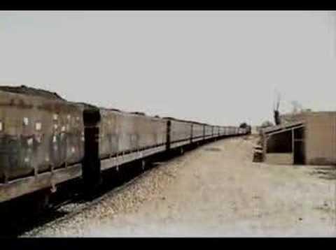 Phosphate train in Tunisia