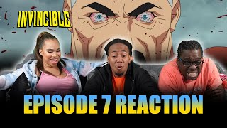 MADNESS!! | Invincible Ep 7 Reaction