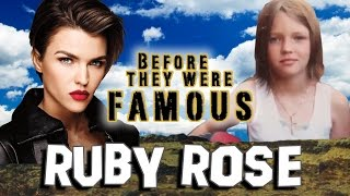 RUBY ROSE - Before They Were Famous