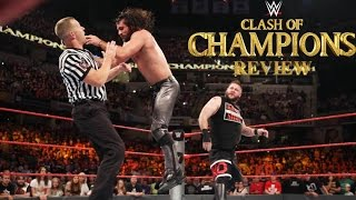 WWE Clash of Champions 2016 review