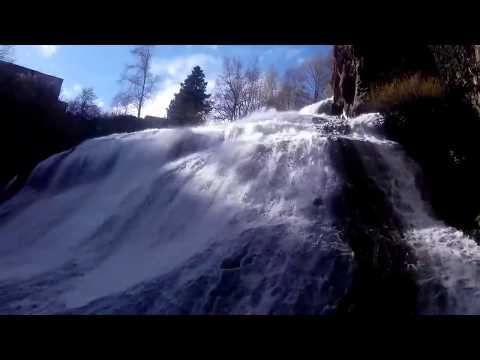 Джермук водопад курорт