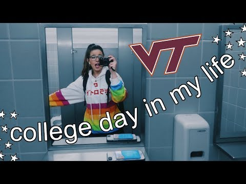 college day in my life || Virginia Tech
