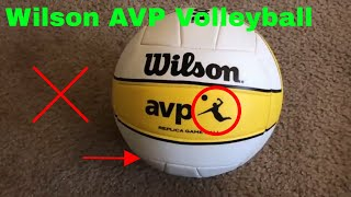 ✅  How To Use Wilson AVP Volleyball Review