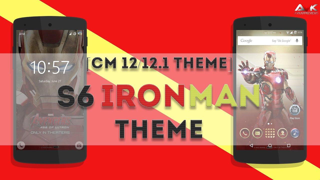 xda: [DARK Version][PORT][CM12 1] S6 Marvel Avenger Themes