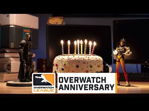 """Magician Symmetra and """"Trace & Bake""""   Overwatch League"""