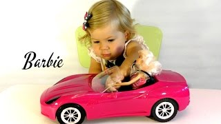 ✿ Машина для Куклы БАРБИ Кабриолет Распаковка Barbie dolls Car unpacking