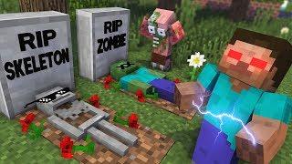 Monster School : RIP EVIL HEROBRINE Challenge - Minecraft Animation