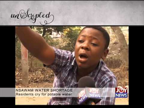 Nsawam water shortage