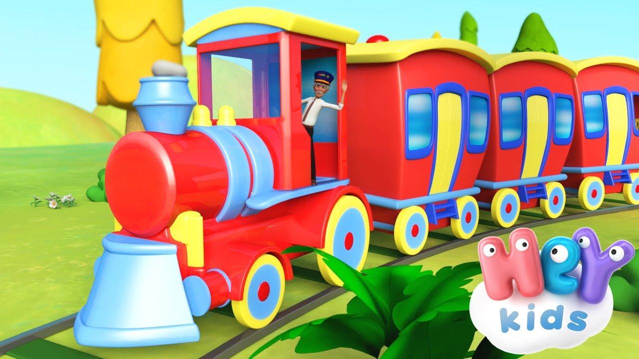 Pociąg 🚂 Piosenka dla dzieci - HeyKids