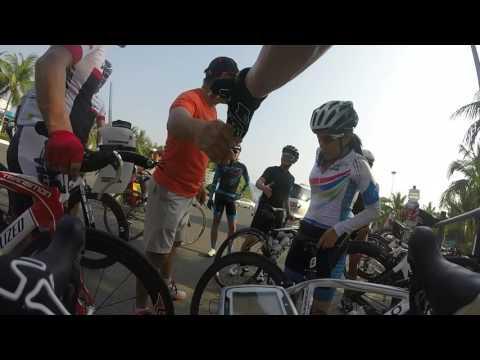 VeloViet Tri-Team pre-race Trainning in Danang, Vietnam