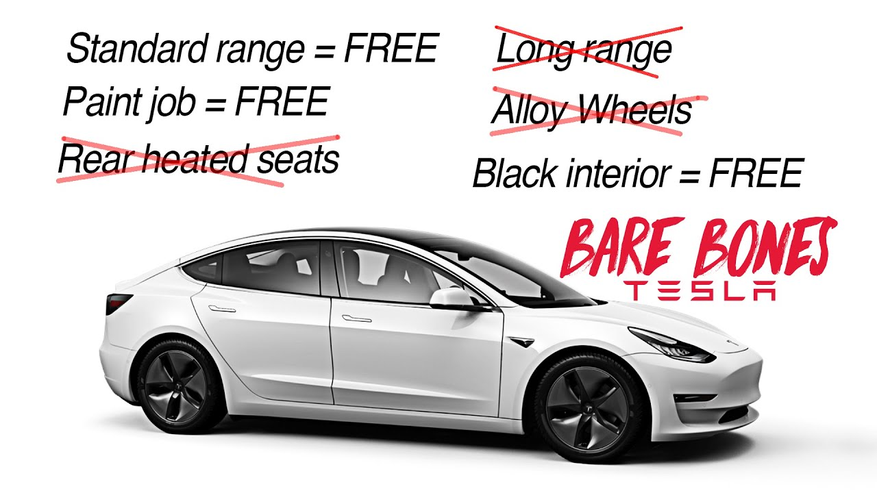 Tesla's Model Y now available in cheaper Standard Range option