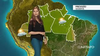 Previsão Norte - Umidade aumenta no TO e sul do PA