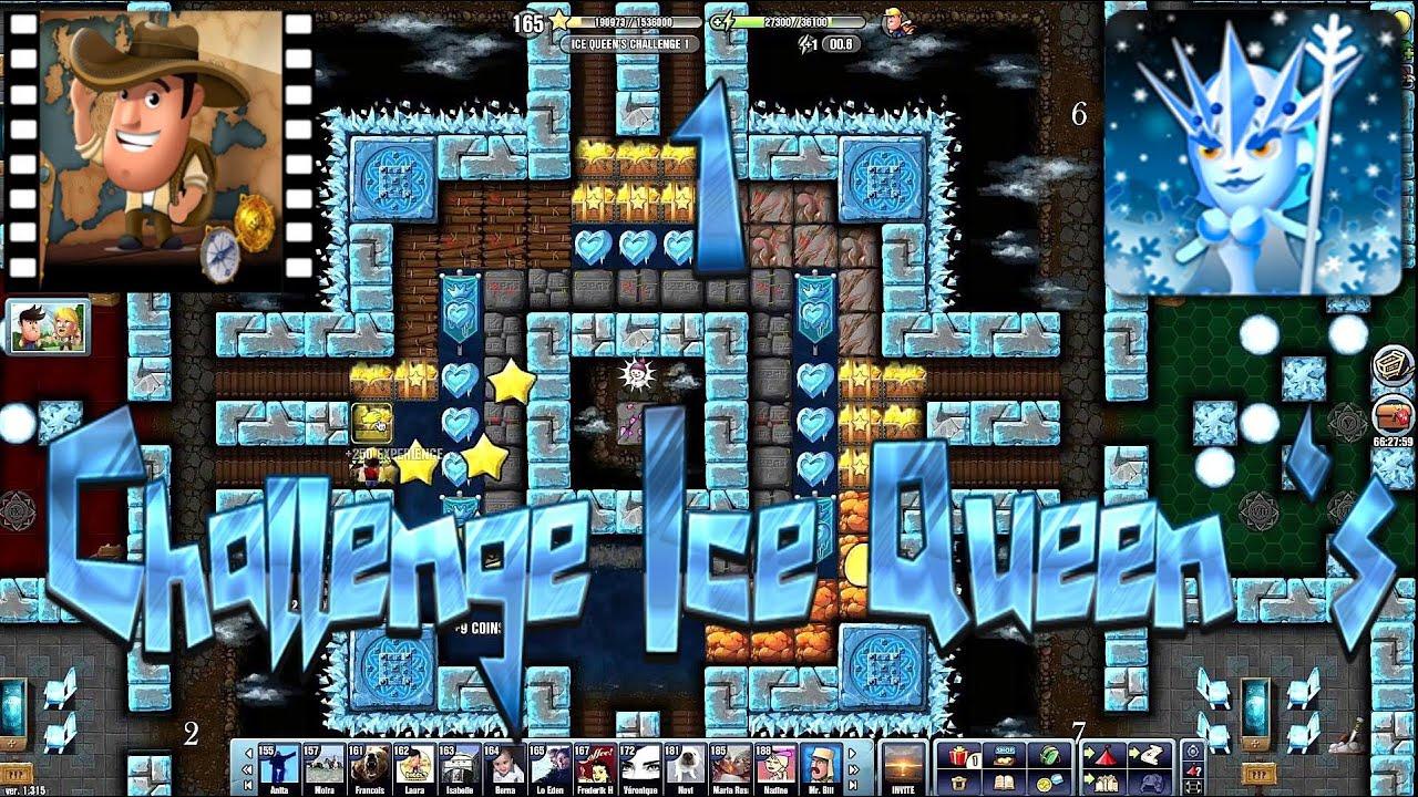 Ice Queen~] # Challenge 1 Ice Queen 's - Diggy's Adventure - YouTube