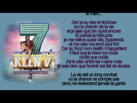 keen'v - le chemin de la vie (officiel video lyrics)