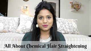 Rebonding Smoothening Permanent Hair Straightening Pros & Cons | Ria Rajendran