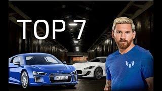 Top 7 autos más lujosos de Messi| 2017