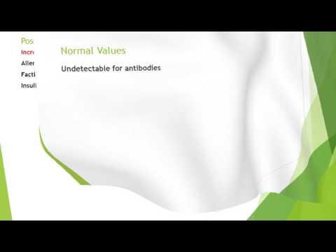 Anti-Insulin Antibody(Insulin Antibody Test)