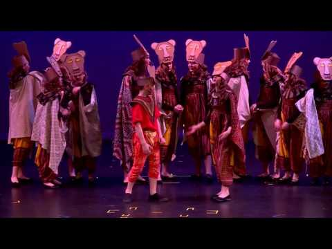 WCA Production of Disney's Lion King Jr pt 1 of 2