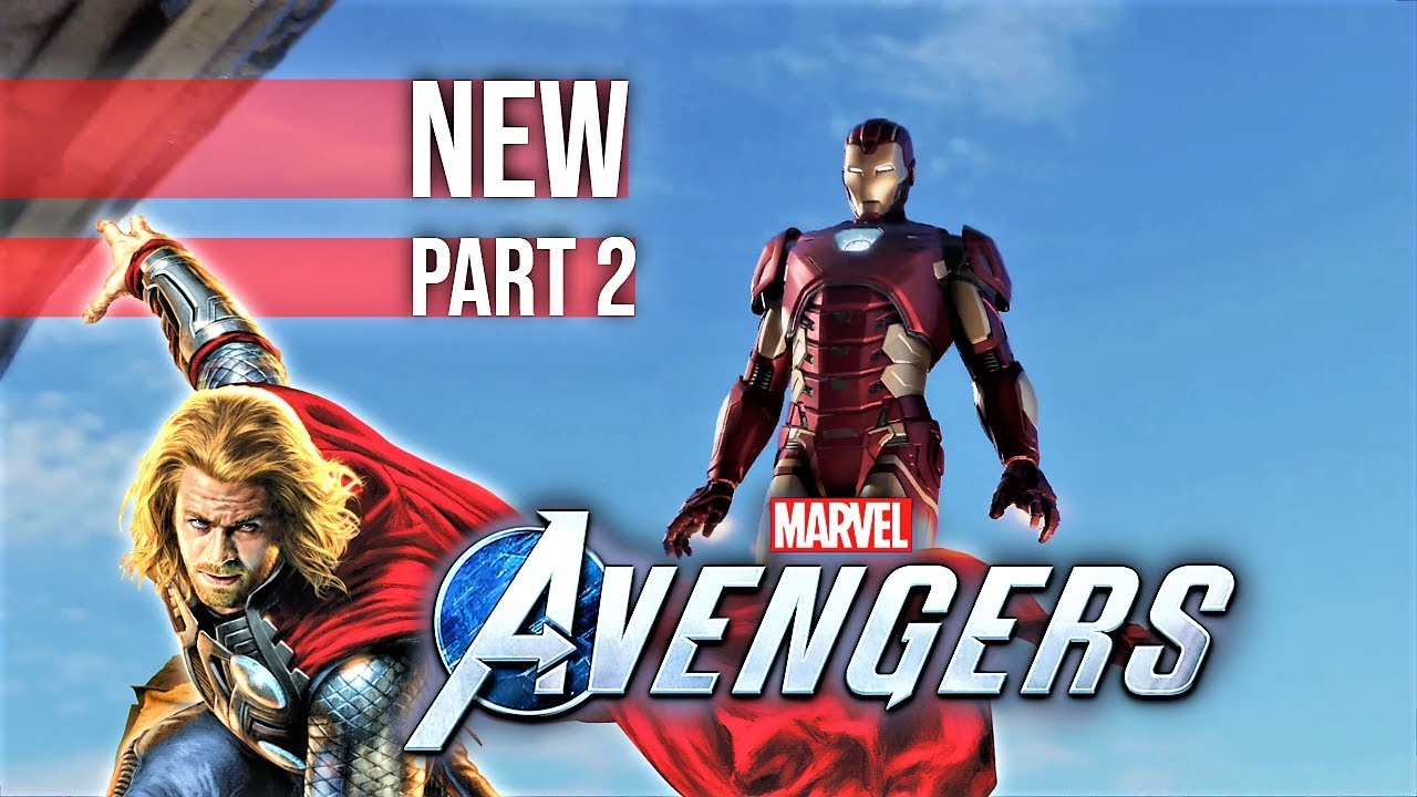 Marvel's Avengers 1.02 PS4 Pro GamePlay 4k 🦸‍♂️ New Part 2 YouTubeGaming 2020