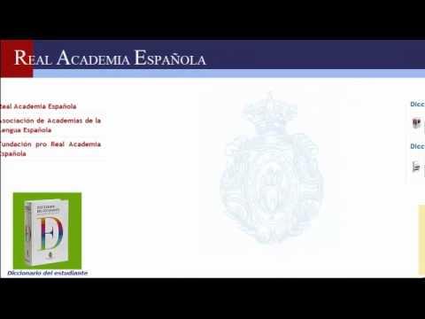 Diccionario Online: Real Academia Española.
