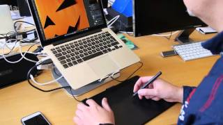Wacom Intuos Art Pen amp Touch Medium im Test Review