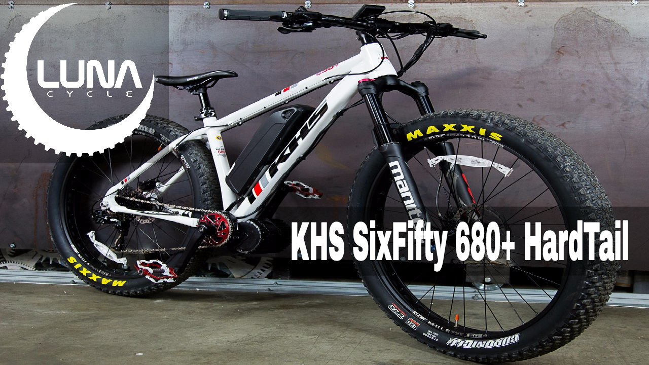 Luna KHS 680+ Hardtail Mountain Ebike - YouTube