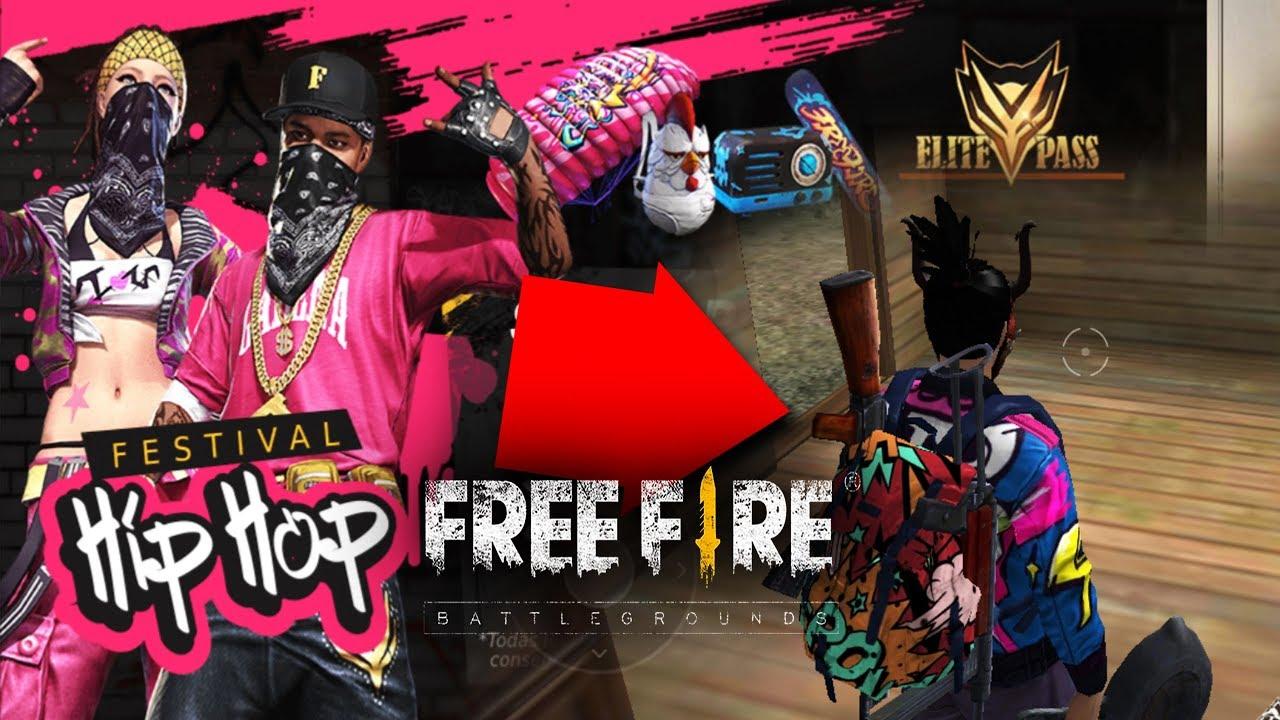 ASI es el NUEVO PASE *HIP-HOP* de ELITE - FREE FIRE - YouTube