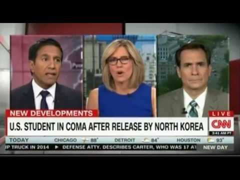US Student in Coma after 17 months in detention in North Korea Sanjay Gupta assesses his condition