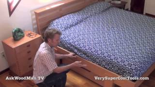 01 How To Build A Bed • Askwoodman Platform Bed Intro