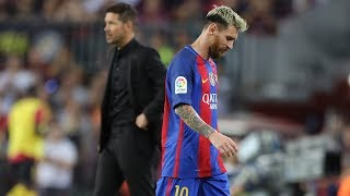 The day Simeone refused to celebrate a goal because of Messi - Oh My Goal