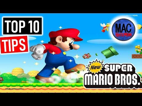 Secret To New Super Mario Bros Wii - Top 10 Tips & Unlock World 9