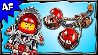 Lego Nexo Knights BEAST MASTER's Chaos Chariot 70314 Stop Motion Build Review