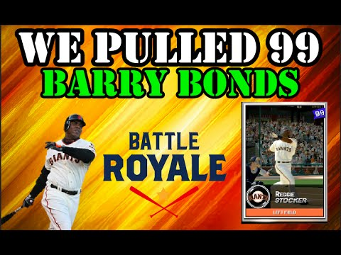 MLB The Show 16 Battle Royale Draft And Gameplay | WE PULLED 99 BARRY BONDS!!
