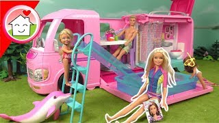 Barbie Puppen Camper: Abenteuer Camper, Traumhaus, Boot , Barbie Camper, Barbie Supercaravana