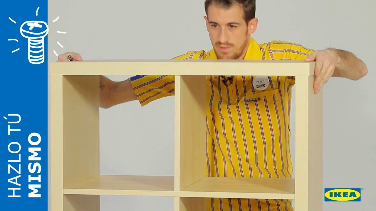 Cmo montar la estantera KALLAX  IKEA  YouTube