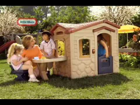 Little Tikes - Picnic On The Patio Playhouse - YouTube