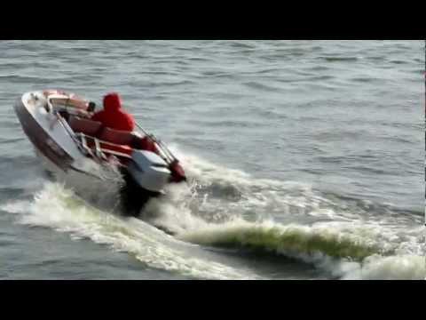 Dateline Bikini speedboat + MARINER 60 hp , Siemianowskie Lake, Poland